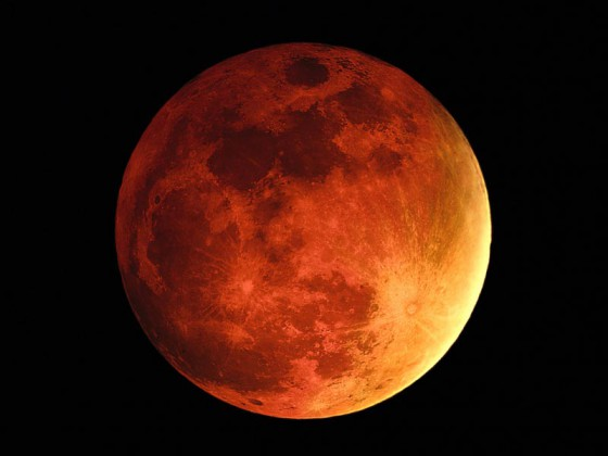 Blood Moon, Solar Eclipse, Blood Moon comes again!
